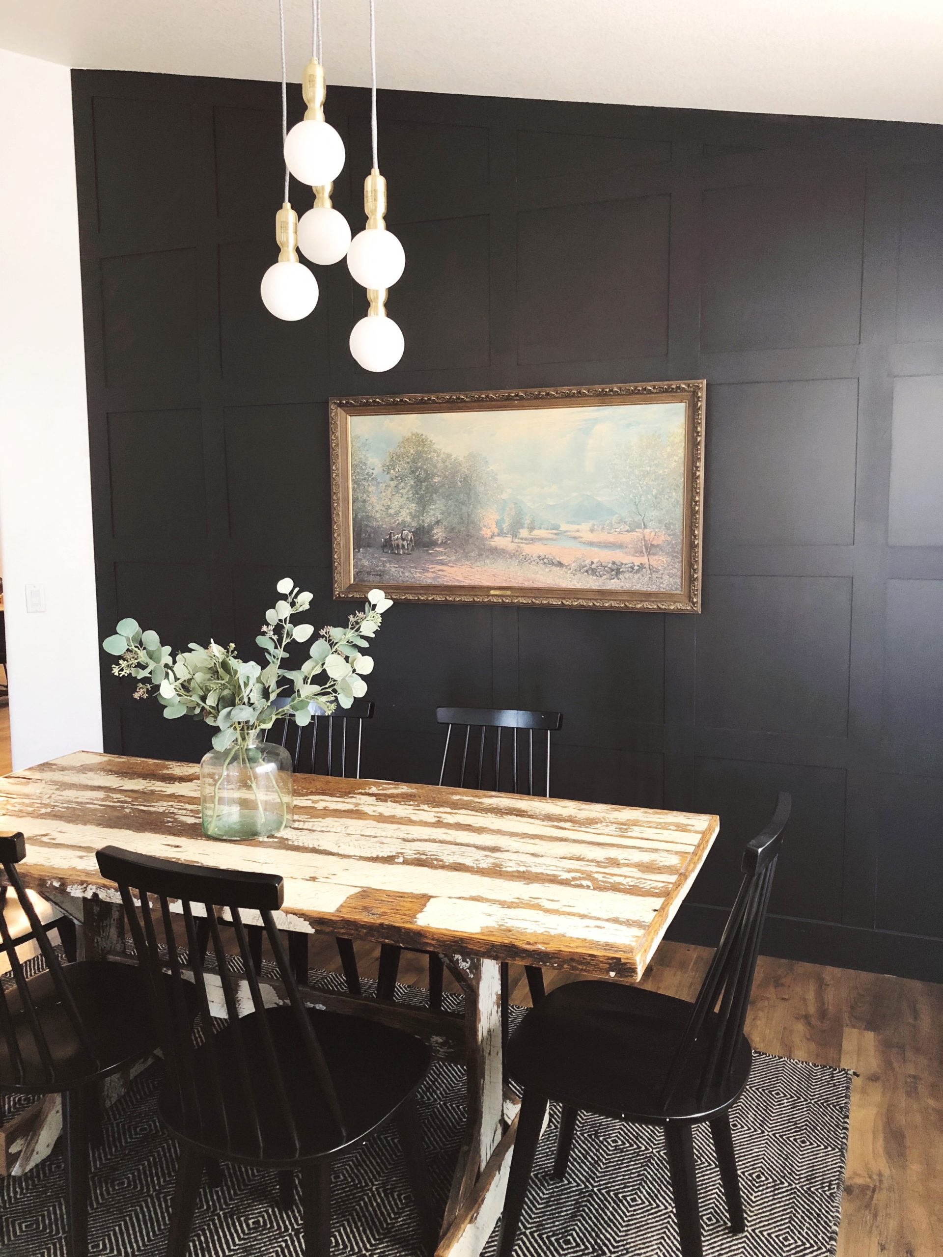 Dining Room Board and Batten Wall - RempelHouse